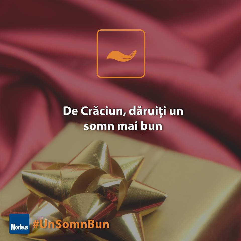 De Crăciun, dăruiți un somn mai bun